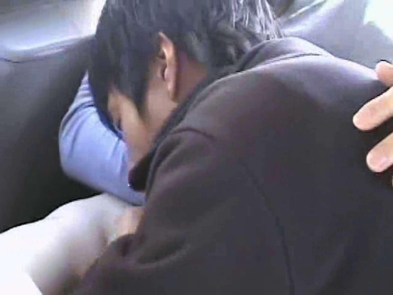 車の中で我慢しきれず発情するゲイカップル フェチ  65pic 47