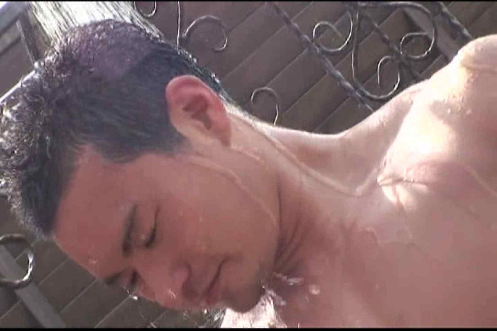 短髪ラガーマン風男子、乳首を舐められ悶絶顔 ぶっかけ  58pic 9