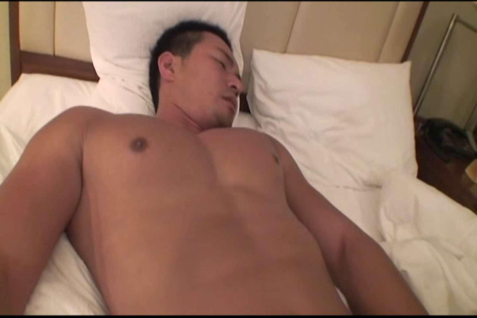 短髪ラガーマン風男子、乳首を舐められ悶絶顔 ぶっかけ  58pic 39